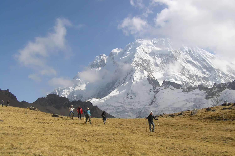 Views on the Ancascocha Trek