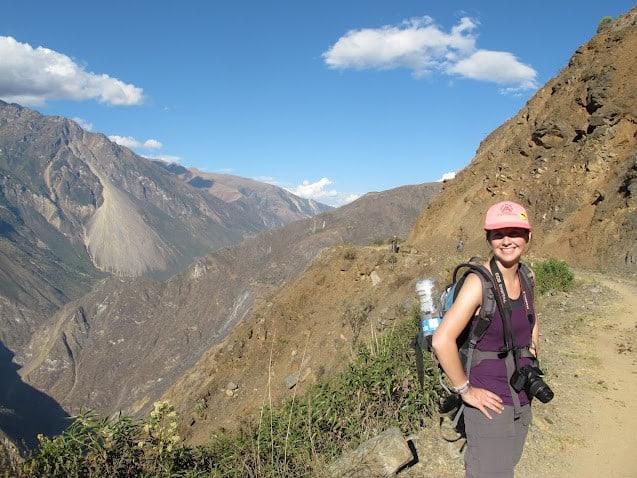 Hiking-the-Choquequirao-hike