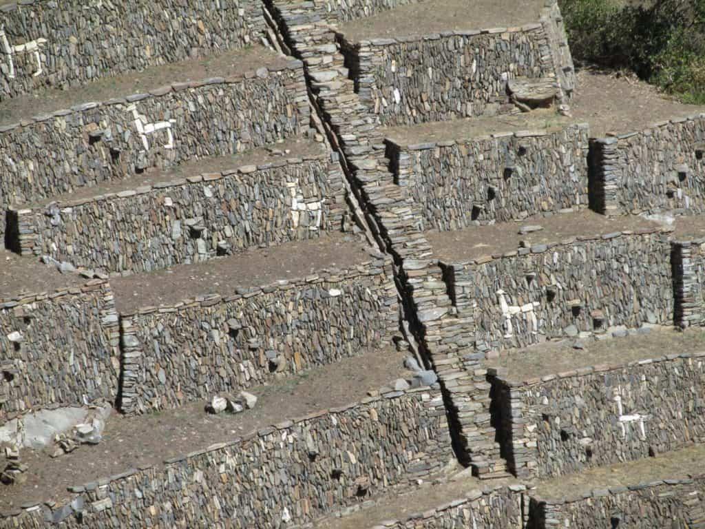 Choquequirao-llama-wall