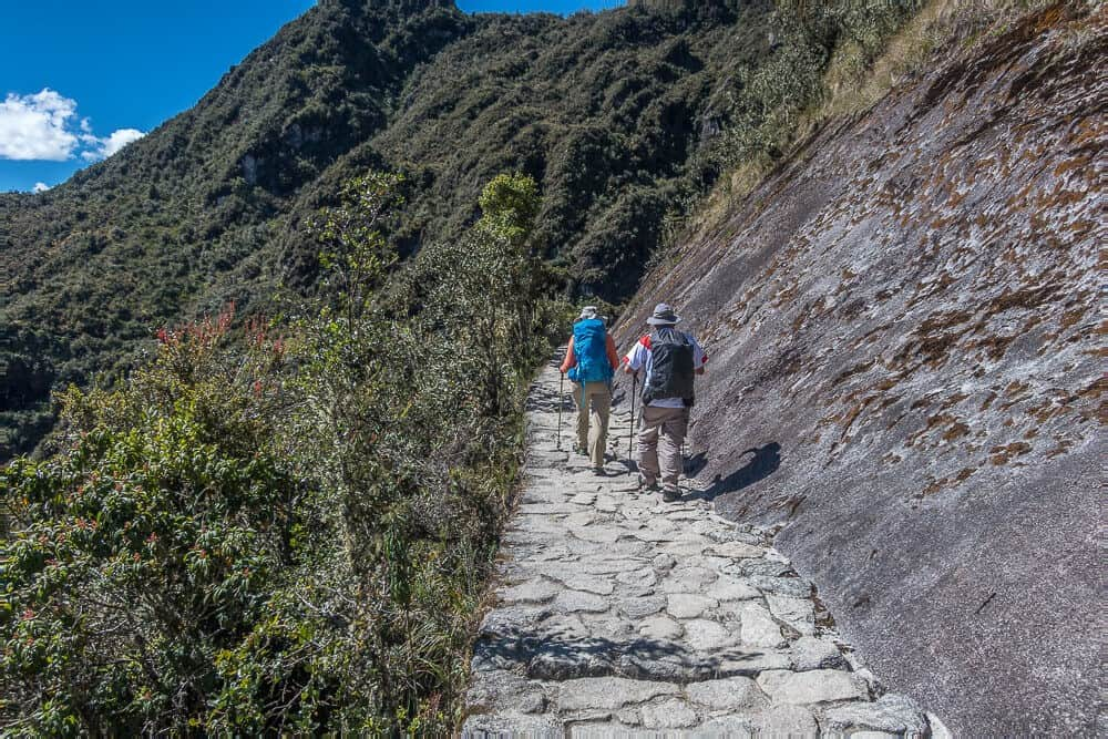 Inca-trail-permits-hike-stone-path