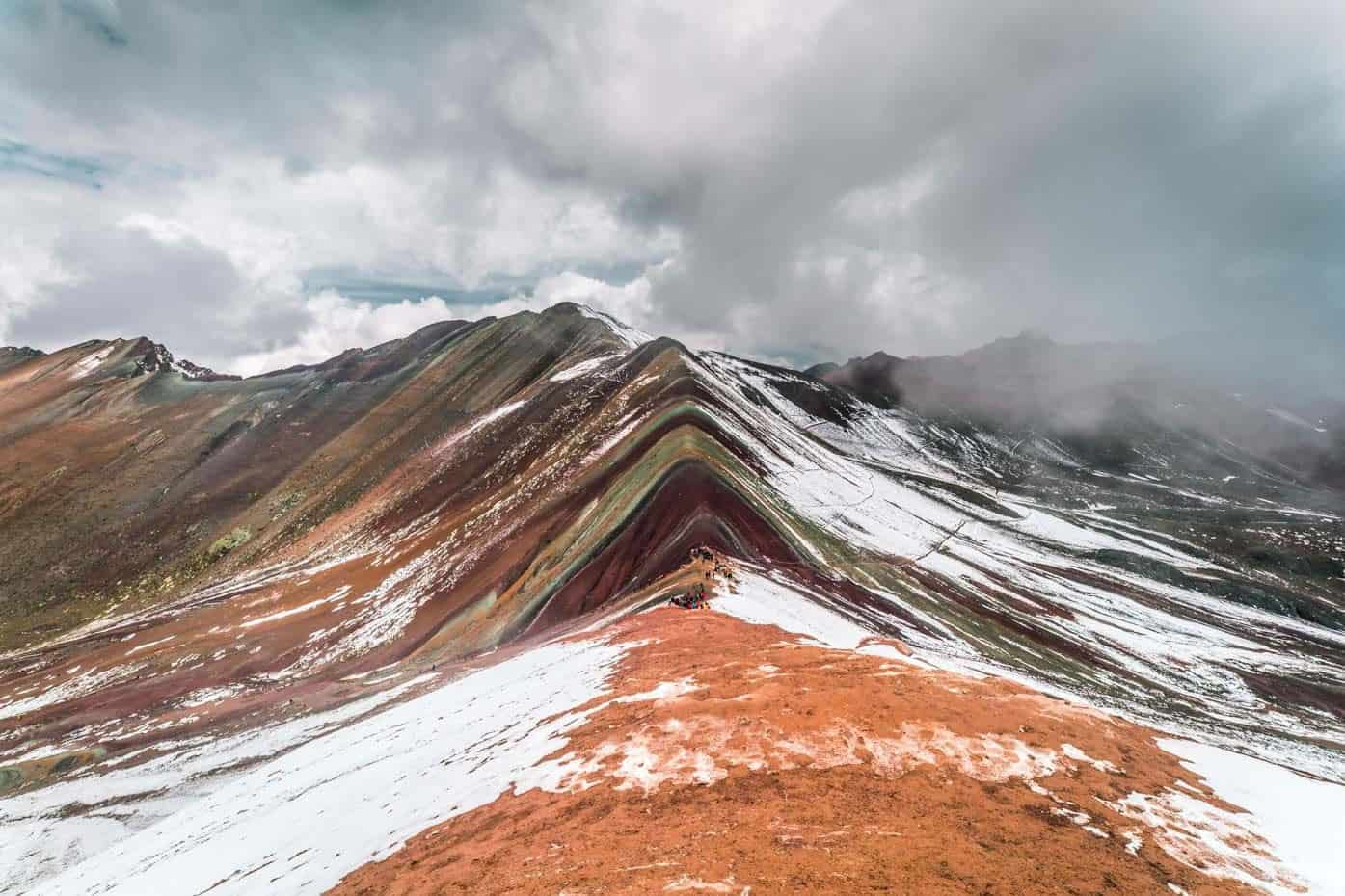Peru Rainbow Mountain 2D