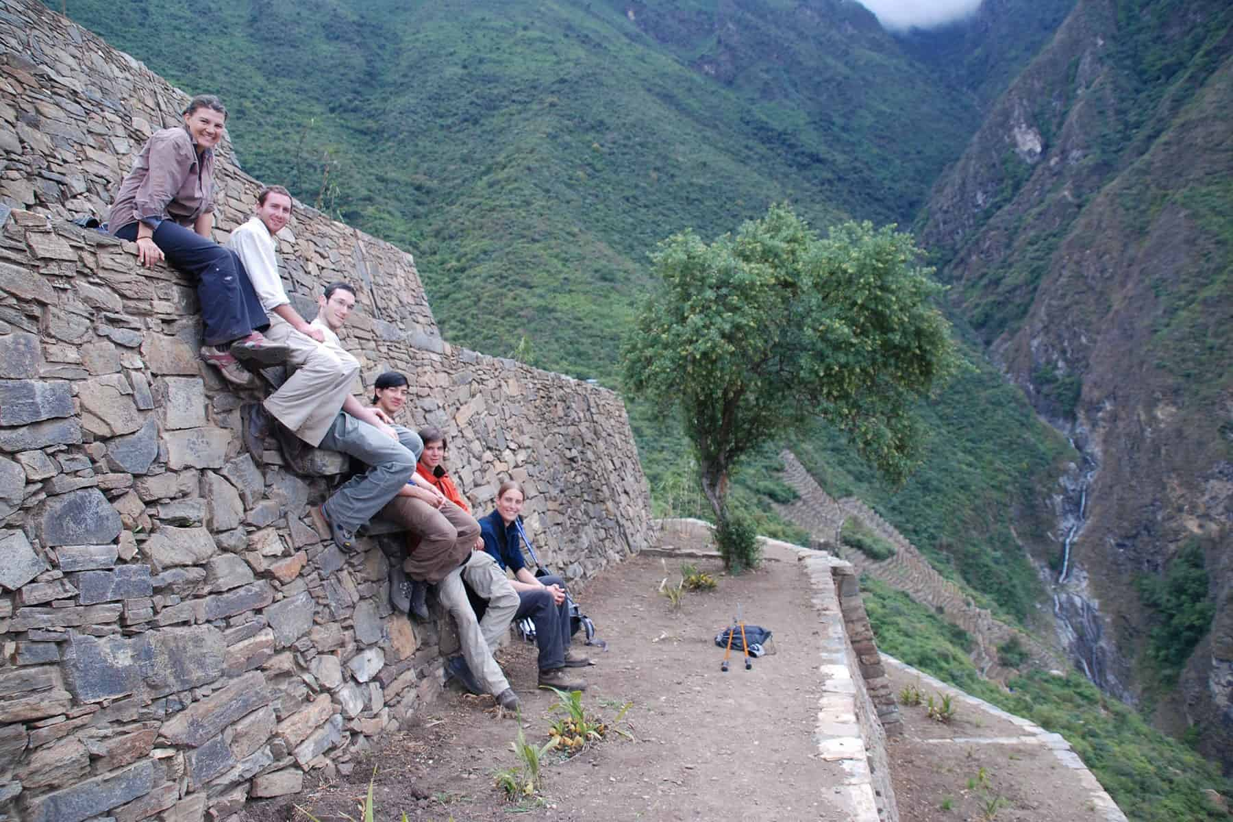 choquequirao-ruins-group