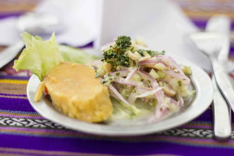 Apus Peru trek meals