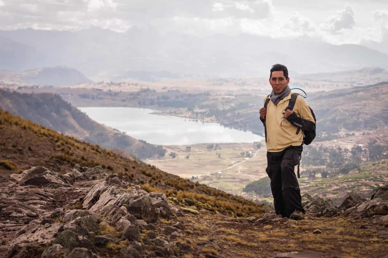 Huchuy Qosqo trek to Machu Picchu 1