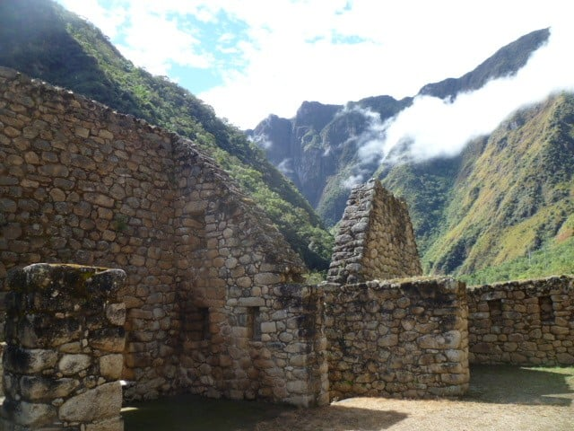 Short Inca Trail ruins