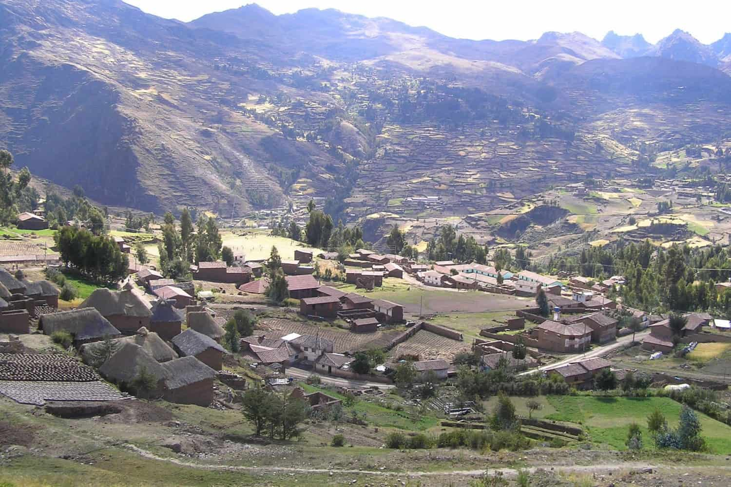 Sacred Valley Pisac highlands