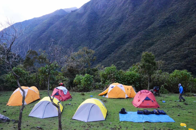 choquequirao vitcos camping