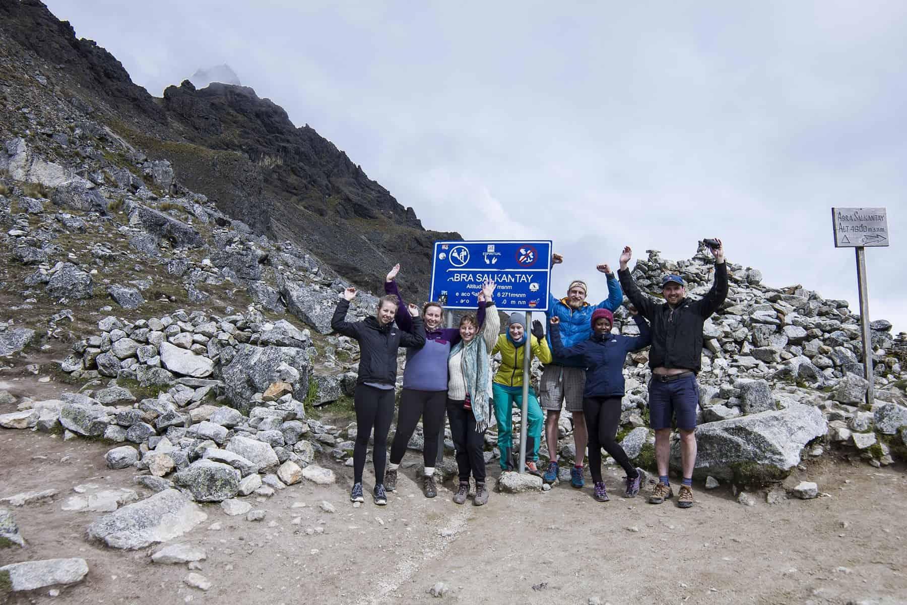 Clean up trek Salkantay trek
