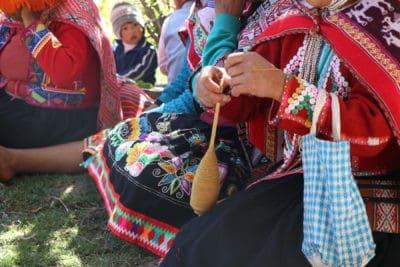 Huaran weaving 1D