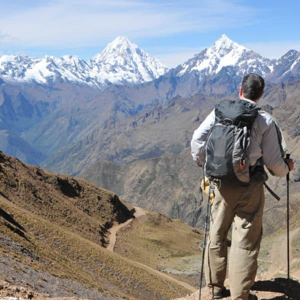 Long distance treks in Peru
