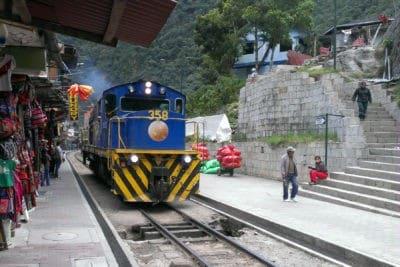 Train Aguas Calientes