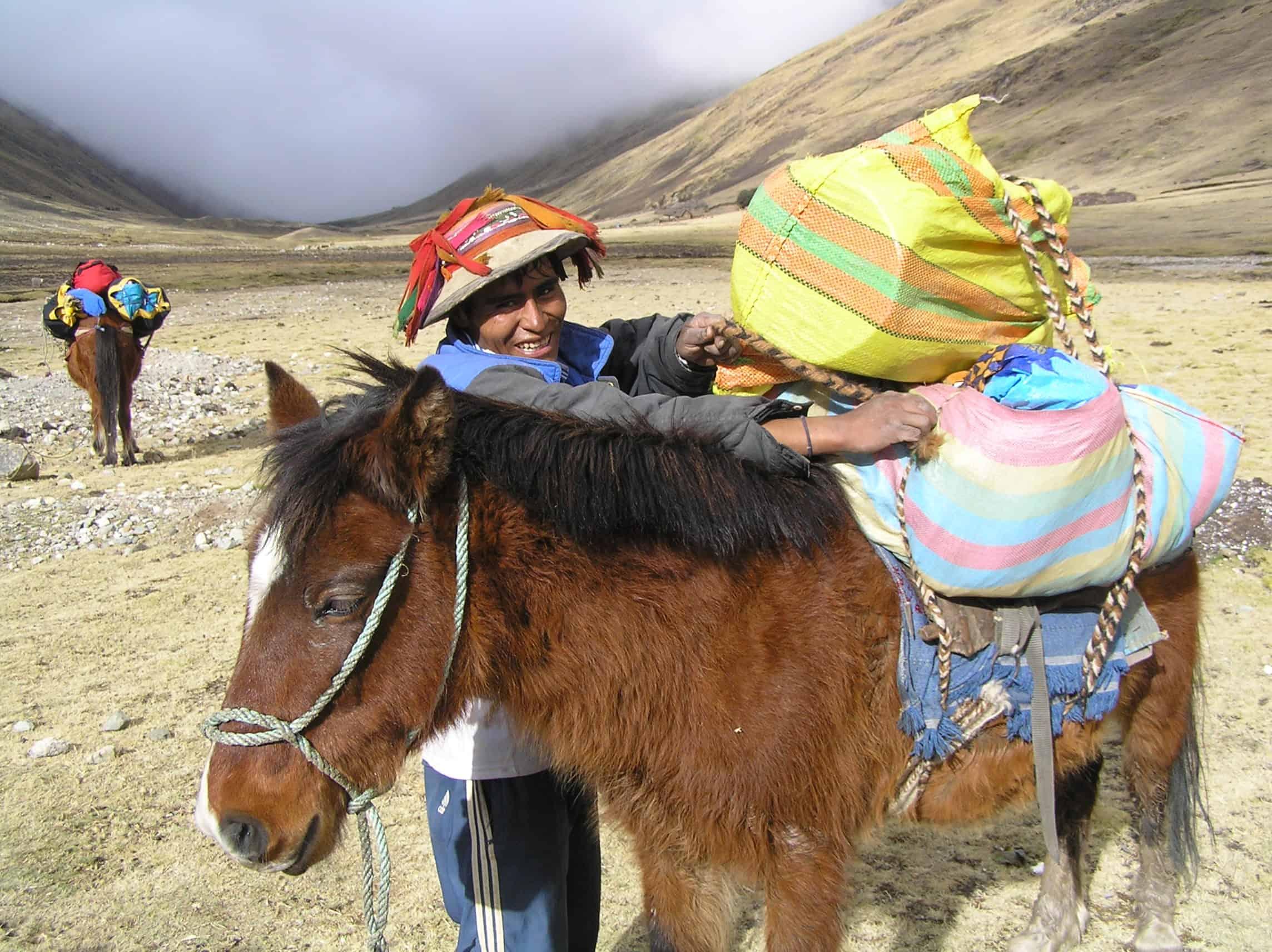 Apus Peru opportunities for local communities