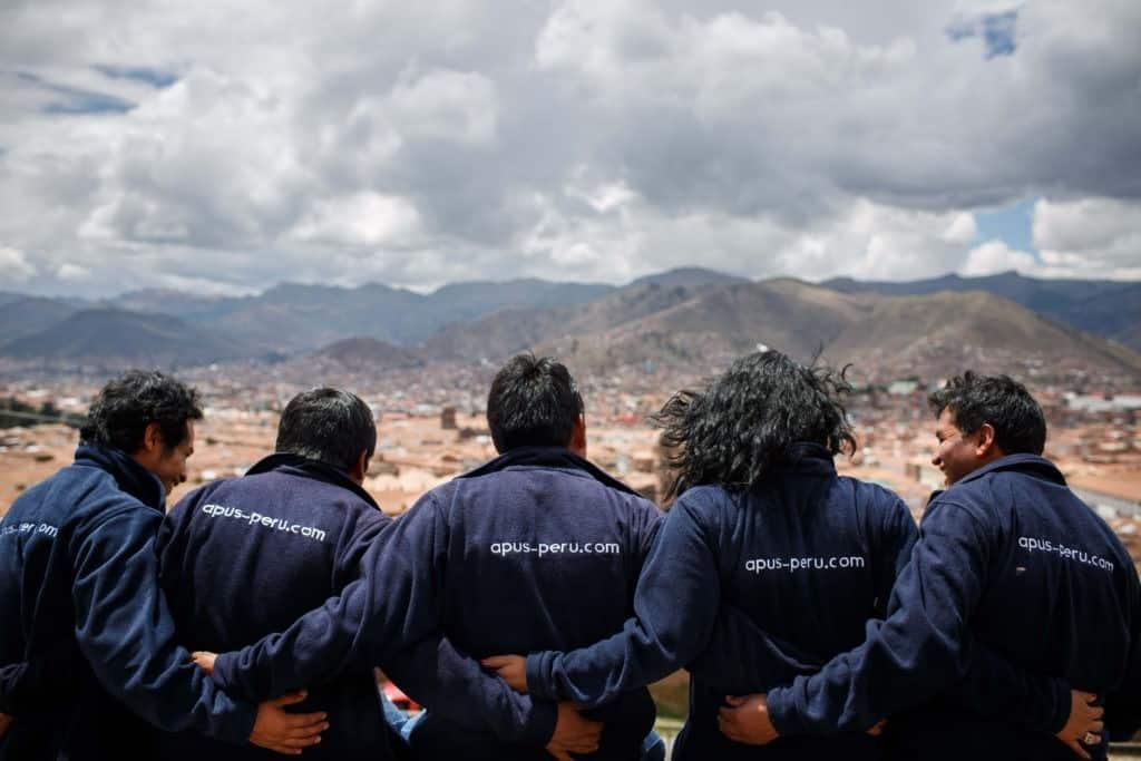 Apus Peru team guides
