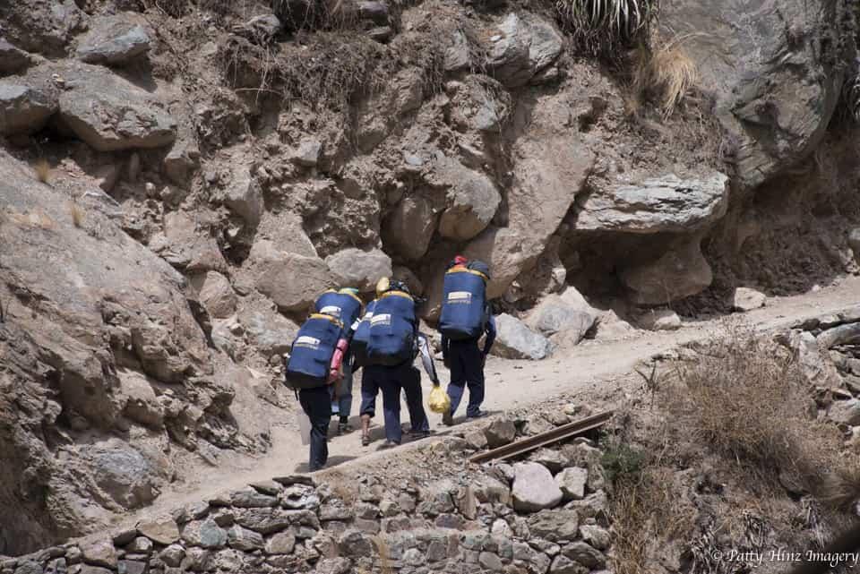 Apus Peru duffel bags Inca Trail