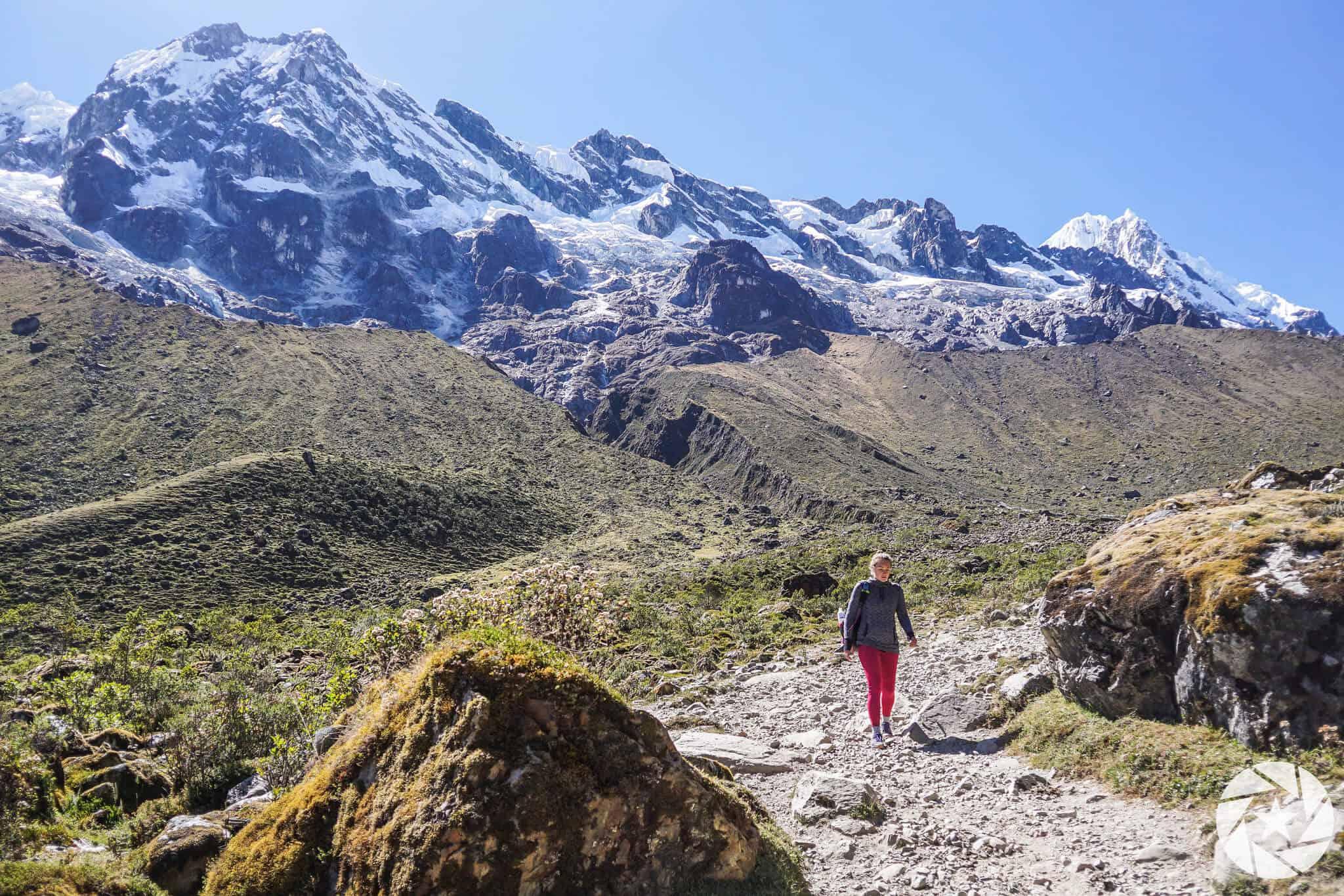 Salkantay hiker
