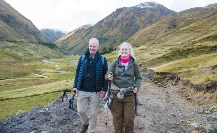 Lares Peru hikers fitness