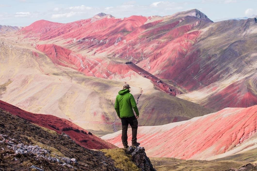red-valley-peru-hiker