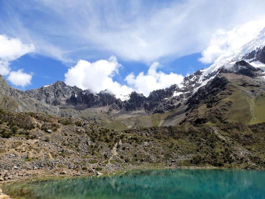 Salkantay - a natural landmark of Peru