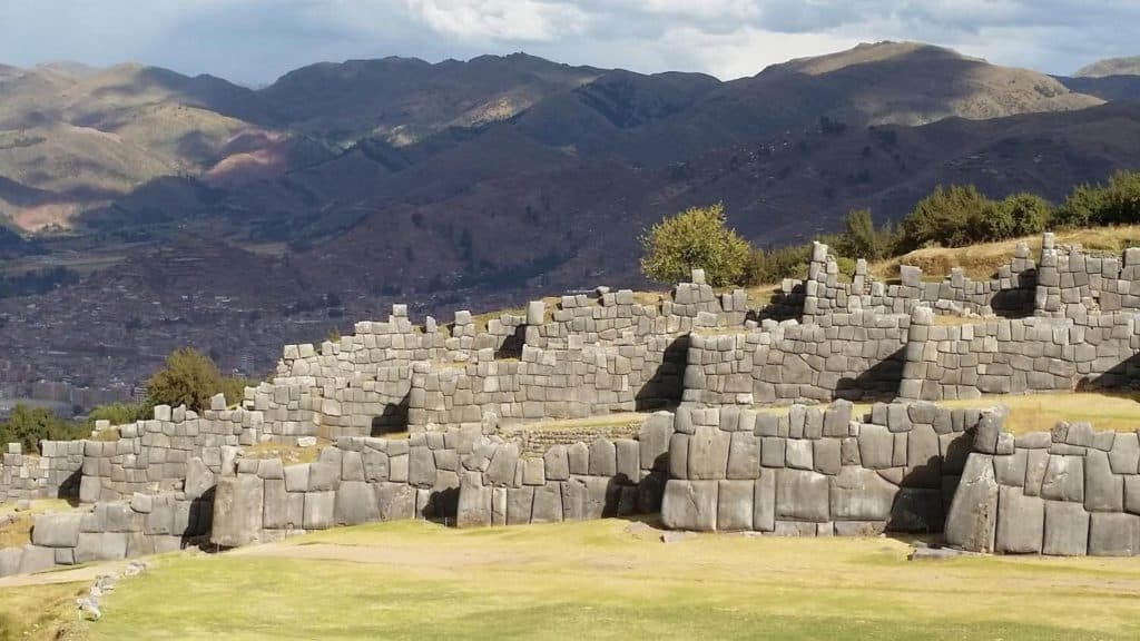 Sacsayhuaman ruins at Cusco, a famous place in peru